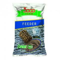 Прикормка Sensas 3000 Club Feeder 1 кг (светлая)